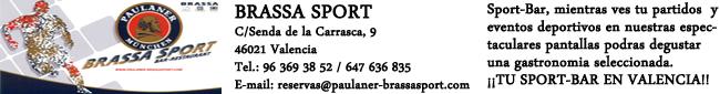 Brassa Sport, Tu SPORT-BAR en Valencia