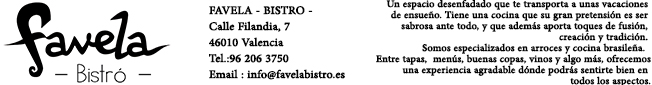 FAVELA - BISTRO -