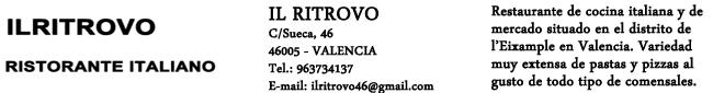 Restaurante Il Ritrovo
