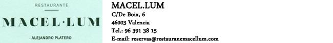 Restaurante Macel.lum