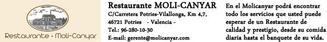 Restaurante MoliCanyar