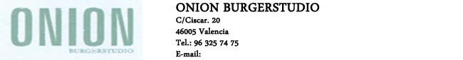 Onion Burgerstudio