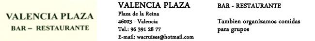 Restaurante Valencia Plaza