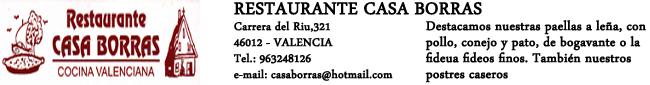 Restaurante Casa Borras