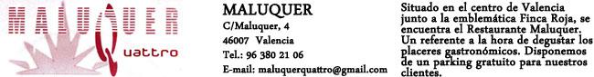 Restaurante Maluquer