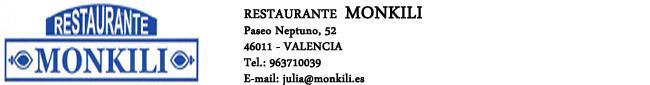 Restaurantes Monkili