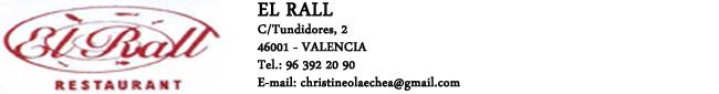 Restaurante EL Rall
