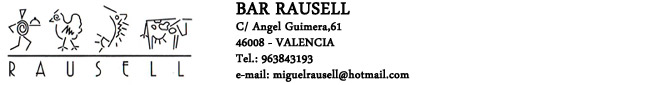 Restaurante Bar Rausell
