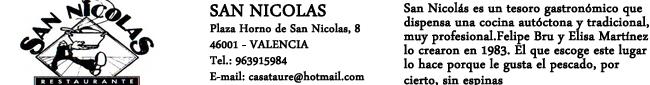 Restaurante San Nicolas