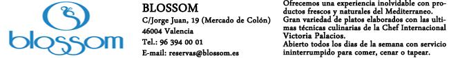Restaurante Blossom